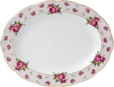 Royal Albert New Country Roses serverar maträtt 33cm