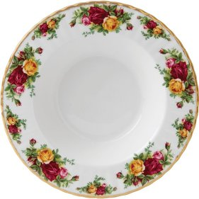 Royal Albert Old Country Roses djup tallrik