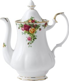 Royal Albert Old Country Roses kaffekanna