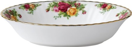 Royal Albert Old Country Roses vegetabilisk maträtt