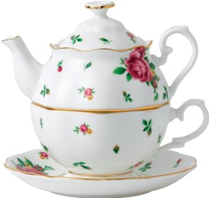 Royal Albert New Country Roses Tea för en