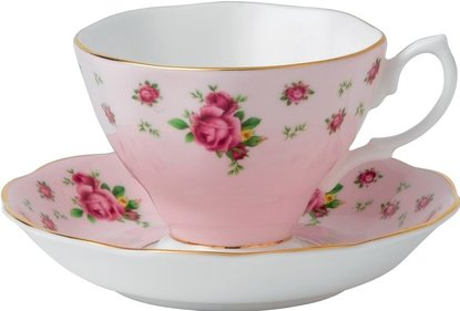 Royal Albert New Country Roses tea cup and saucer