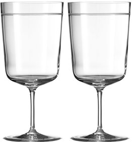 Wedgwood Vera Wang Bande waterglas - set van 2