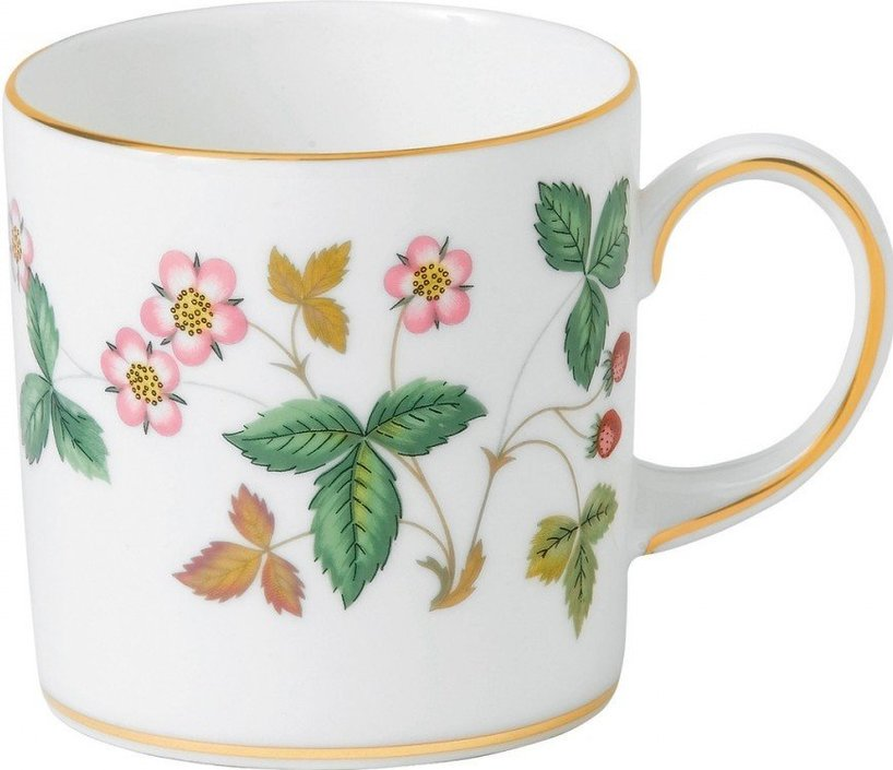 Wedgwood Wild Strawberry Coffee Cup