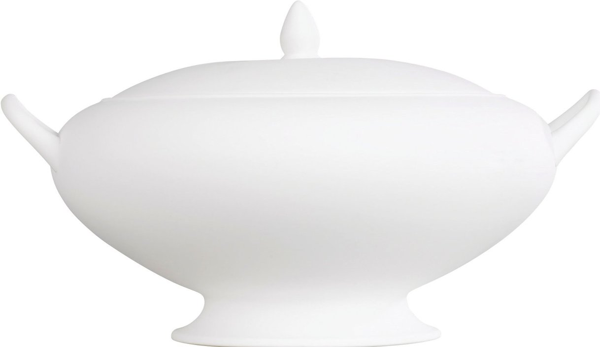 Wedgwood White Suppenterrine 4L