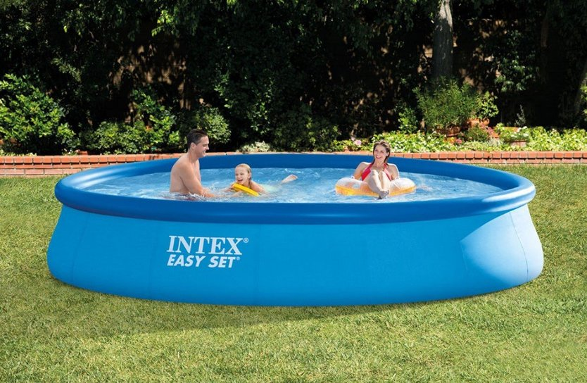 Intex Easy Set Pool 457 cm inflatable pool
