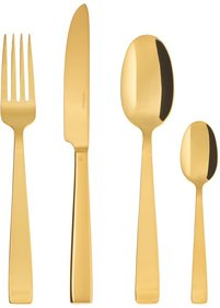 Sambonet Flat Gold cutlery set