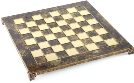 Manopoulos Classic chess board 28x28 cm