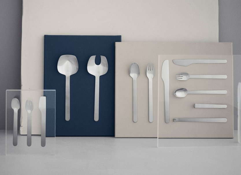 Georg Jensen Louise Campbell salad cutlery