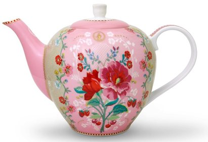 Pip Studio Floral theepot 1,6L