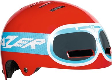 Lazer Street helm Rood Junior