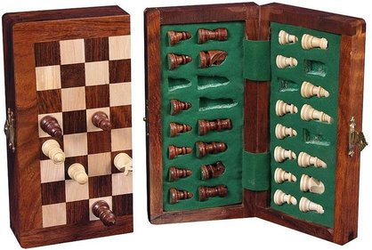 Longfield Games Magnetic Chess game 26x25 cm