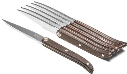 TB Laguiole Sens 6-piece steak knife set