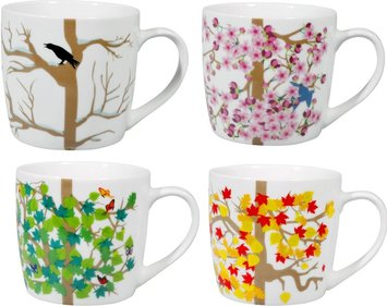 Puhlmann Four Seasons Tasse - 4er Set