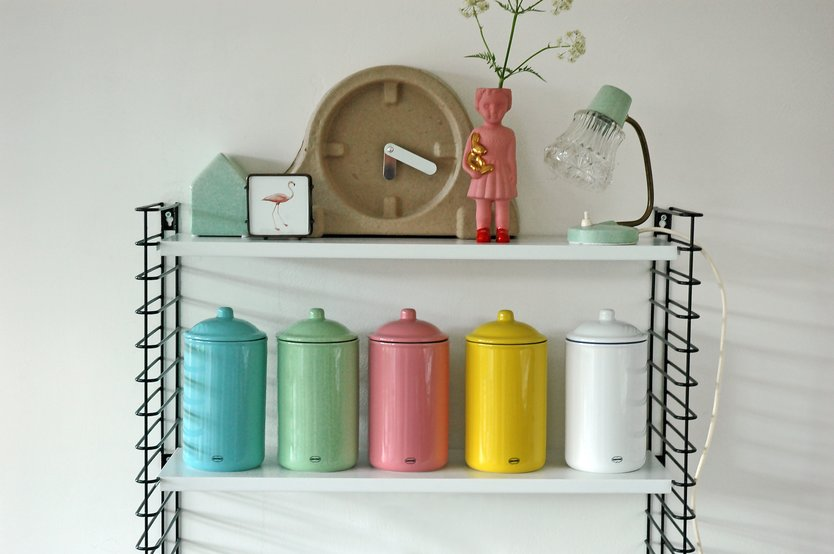 Cabanaz Retro storage jar