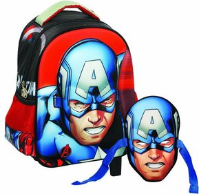 GIM Captain America backpack + mask