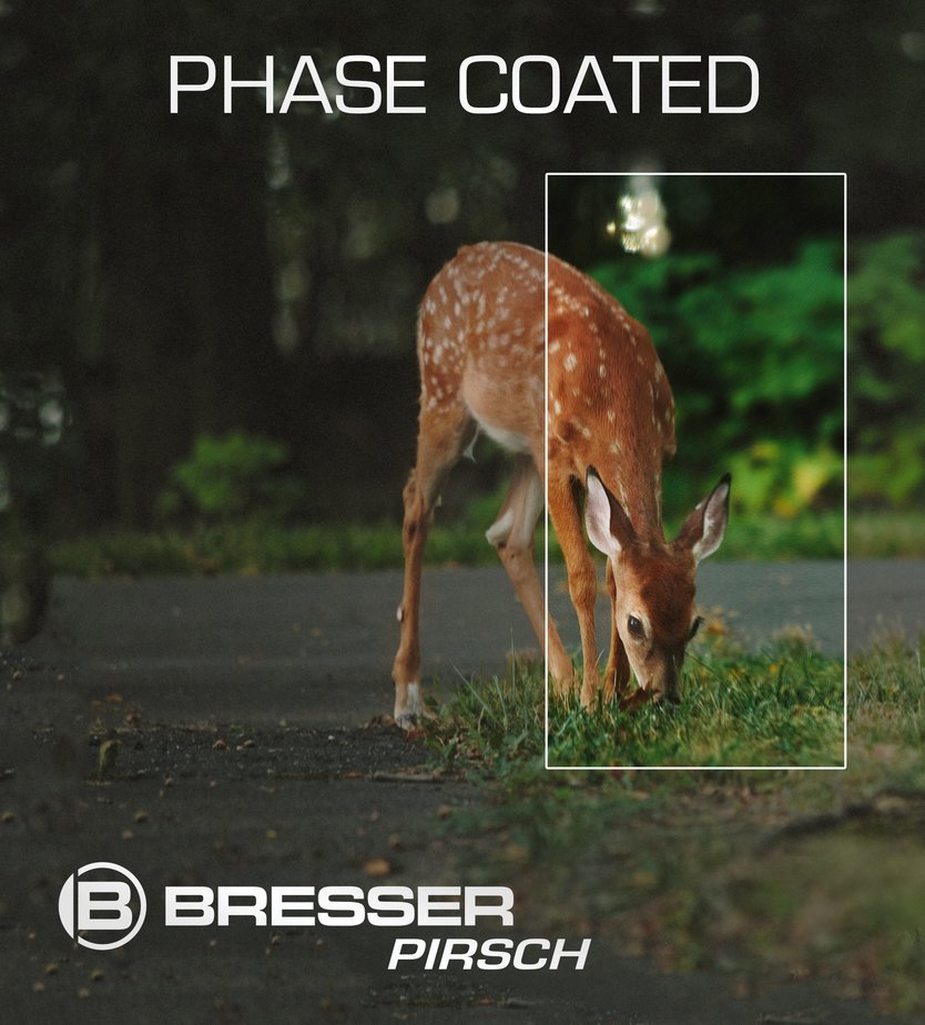 Bresser Pirsch 10x34 Phase coating