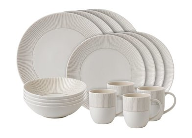 Royal Doulton ED Stripe 16-teiliges Geschirrset