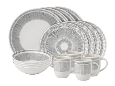Royal Doulton ED Lines 16-teiliges Geschirrset