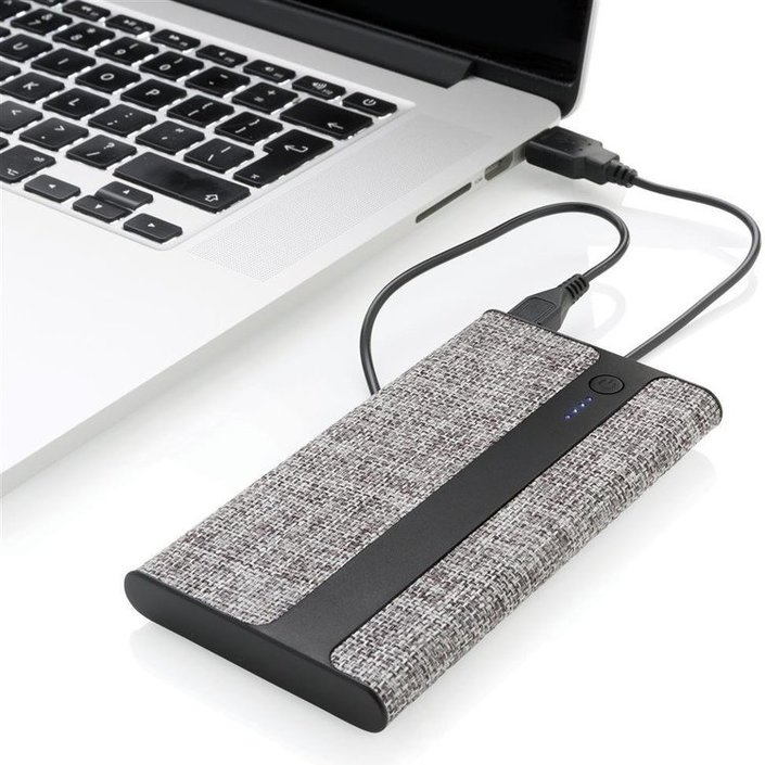 XD Design 4.000 mAh Fabric powerbank
