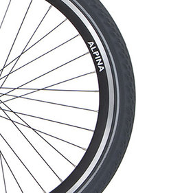 Alp velg 20 J19DB black matt