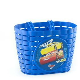 Widek Cars 3 bicycle basket blue