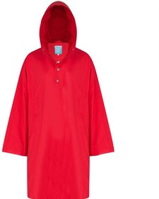 Happy Rainy Days Rosa Poncho Cape regenponcho