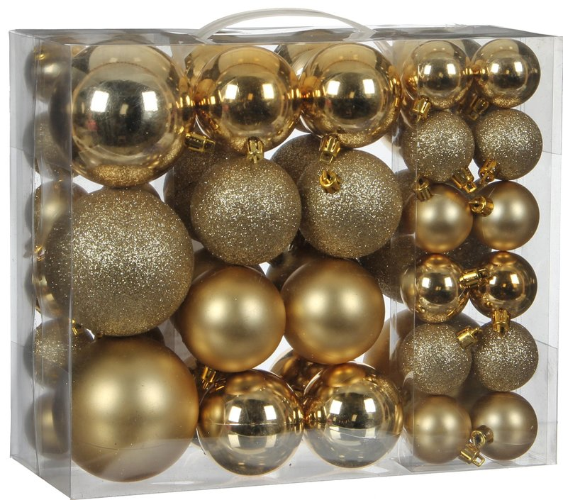 House of seasons Ornament Christmas baubles 46 pieces