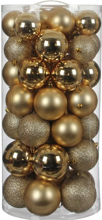 House of seasons Ornament kerstballen 48 stuks