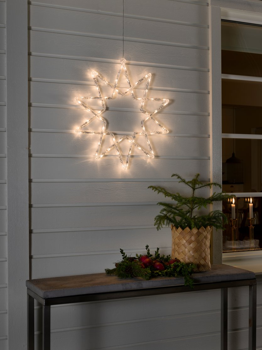 Konstsmide LED Acrylique Star Blanc Chaud