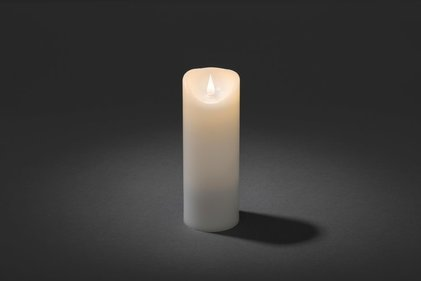 Konstsmide LED wax candle narrow