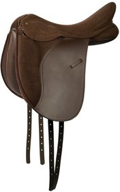 Harry's Horse Switch Brown dressuurzadel