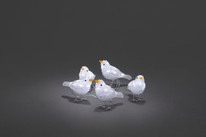 Konstsmide LED Acryl Birdies