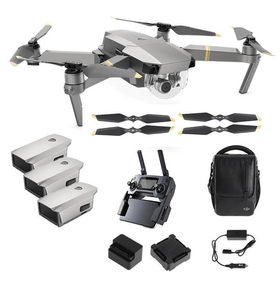 DJI Mavic Pro Platinum fly plus combo
