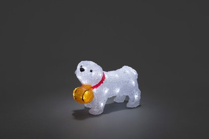Konstsmide LED Acrylic Saint Bernard Dog