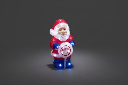 Konstsmide LED Acryl Kerstman outdoor 30 cm