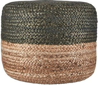 House Doctor Hemp pouf