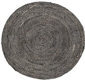 House Doctor Structure Round rug