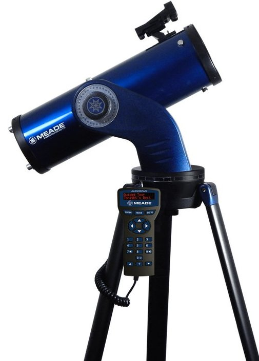 Meade StarNavigator 114 mm reflector telescope