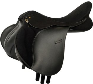Harry's Horse Switch Black veelzijdigheidszadel