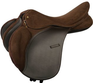 Harry's Horse Switch Brown veelzijdigheidszadel