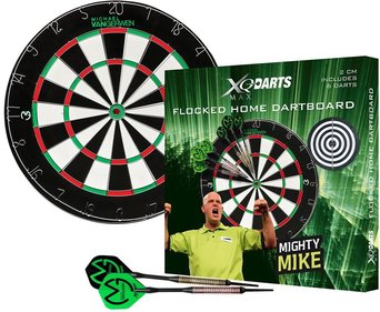 XQ Max Michael van Gerwen flocked dartbord set