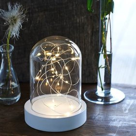 Sirius Bella LED glass dome