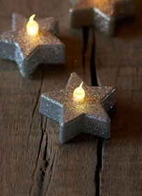 Sirius Line Star shaped LED tealight