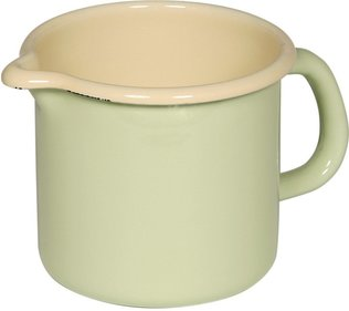 Riess high pan with spout ø 10cm light green