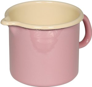 Riess high pan with spout ø 12cm pink