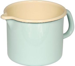 Riess high pan with spout ø 14cm turquoise