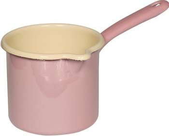 Riess saucepan with spout ø 12cm pink - high