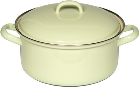 Riess saucepan ø 16 lemon yellow