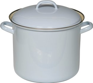 Riess saucepan ø 24cm lavender blue - high